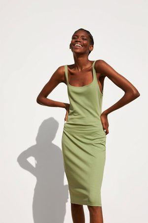 Zara Stram kjole med stropper