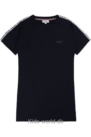 HUGO BOSS Kjole - Navy m. Logo