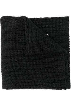 VALENTINO Halstørklæde i strik med logo