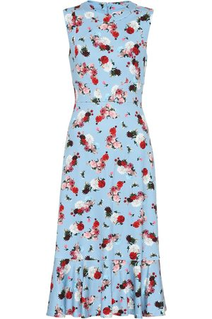 Erdem Exclusive to Mytheresa – Grazia floral ponte dress