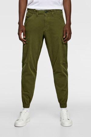 Zara Cargobukser med lommer på siden