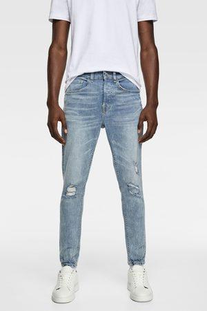 Zara Mænd Skinny - Jeans med huller skinny fit