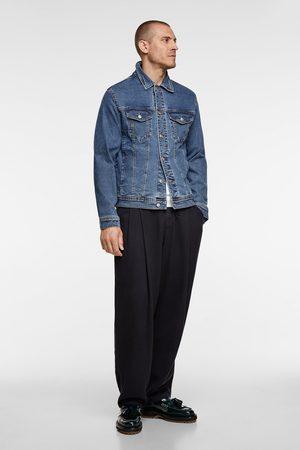 Zara Komfortabel jakke i denim