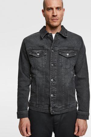 Zara Mænd Cowboyjakker - Komfortabel jakke i denim