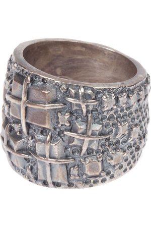 TOBIAS WISTISEN Engraved ring
