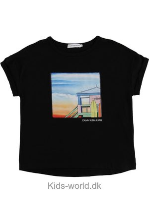 Calvin Klein Kortærmede - T-shirt - Satin Patch