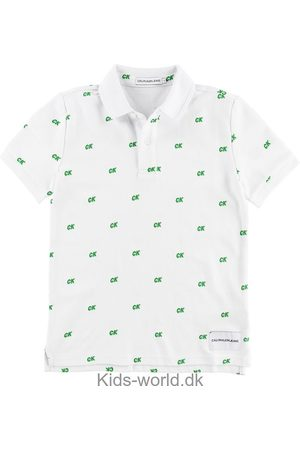Calvin Klein Polo - Pique All Over CK