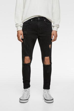 Zara Jeans med huller - skinny fit