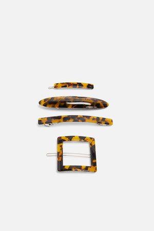 Zara Pakke med acetat-hårklips