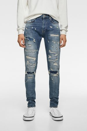 Zara Mænd Skinny - Jeans med huller - skinny fit