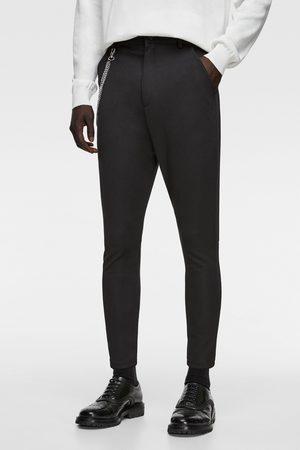 Zara Mænd Chinos - Gulerodsbukser med kæde