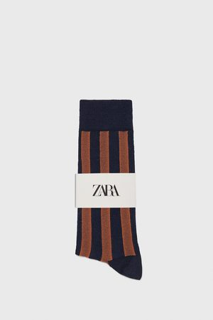 Zara Merceriserede strømper med striber