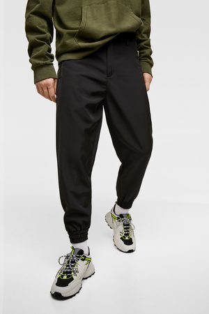 Zara Textured jogging trousers
