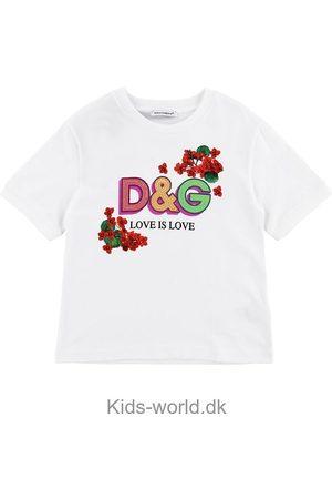 Dolce & Gabbana Kortærmede - T-shirt - Portofino - m. Print