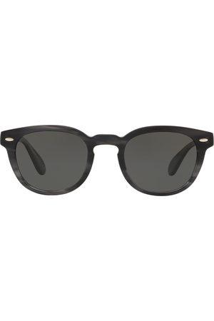 Oliver Peoples Sheldrake-solbriller med rundt stel