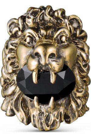 Gucci Lion head ring with Swarovski