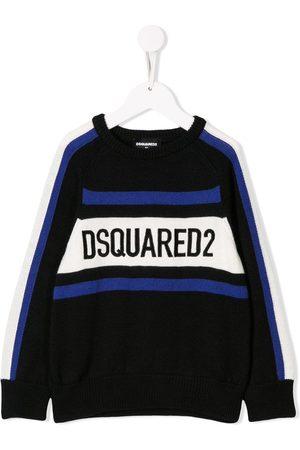 Dsquared2 Drenge Strik - Strikket trøje med logo
