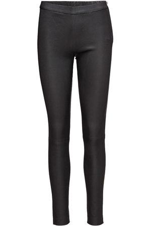 DEPECHE Pants Leather Leggings/Bukser