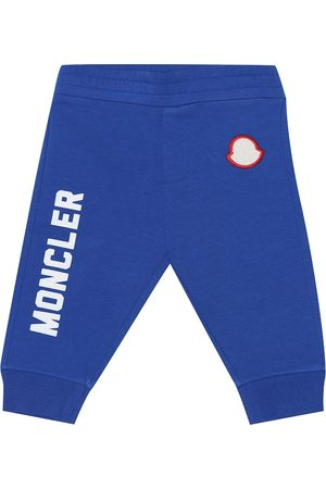 Moncler Baby stretch-cotton trackpants