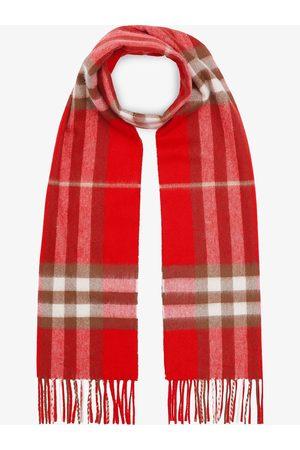 Burberry Halstørklæde i kashmir med klassisk ternet mønster