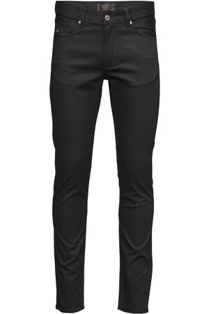 J Lindeberg Damien Black Stretch Denim Skinny Jeans