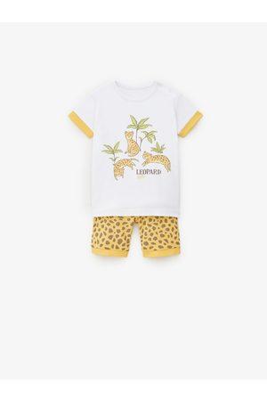 Zara Pyjamas med leopardprint