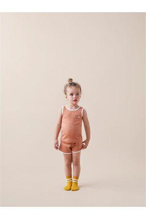 Zara Pyjamas i rib med mærke