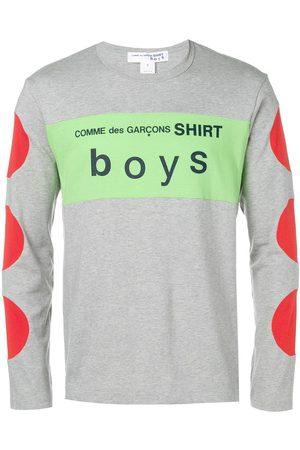 Comme des Garçons Mænd Langærmede - Langærmet T-shirt med logo