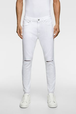 Zara Jeans med huller skinny fit