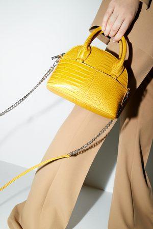 Zara Mini bowlingtaske med dyreprint