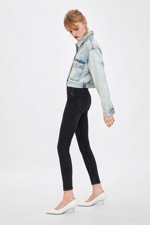 Zara High-rise vintage jeggings