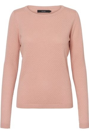 Vero Moda Struktur Pullover Kvinder Lyserød