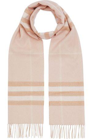 Burberry Tørklæde i kashmir med klassisk ternet mønster