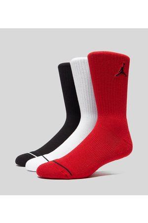 Jordan 3-Pakke Crew Sokker, multi