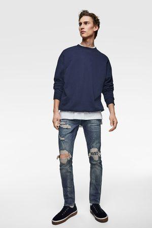 Zara Skinny jeans med bandanalapper