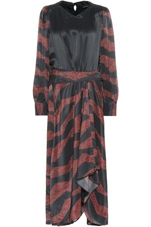Isabel Marant Romina printed silk-blend midi dress
