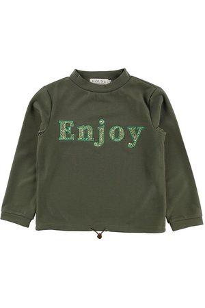 Hound Sweatshirts - Sweatshirt - Army m. Glimmersten/Print