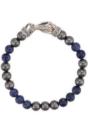 John Hardy Asli Classic Chain Link-armbånd med perler