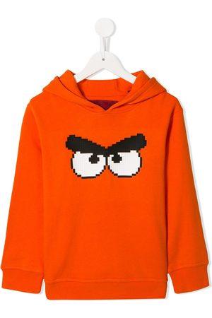 MOSTLY HEARD RARELY SEEN Hættetrøje med Angry Bird-tryk