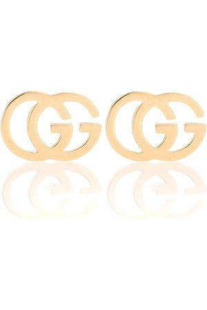 Gucci Kvinder Øreringe - GG 18kt gold stud earrings