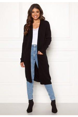 Vila Ril Long Knit Cardigan Black XS
