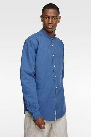 Zara Oxford-skjorte med kinakrave