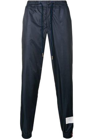 Thom Browne Ribbede joggingbukser med stribe