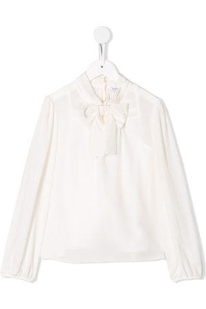 Dolce & Gabbana Bluse med sløjfe