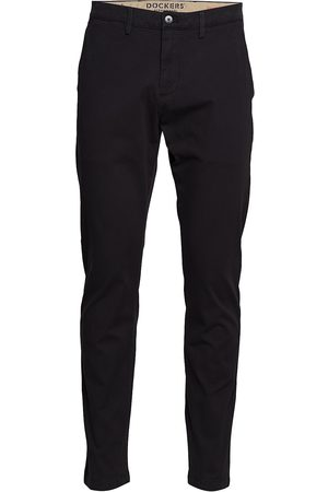 Dockers Mænd Chinos - Smart 360 Chino Black Chinos Bukser Sort