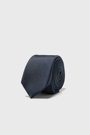 Zara Mænd Slips - Ottoman skinny tie