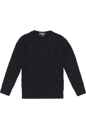 Loro Piana Kids Downey cashmere sweater