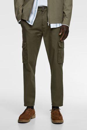 Zara Slim fit cargo-bukser