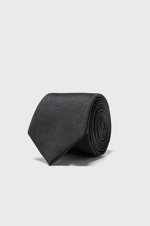 Zara Mænd Slips - Bredt ottoman slips