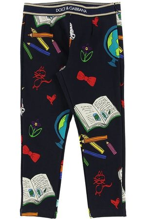 Dolce & Gabbana Leggings & Treggings - Leggings - Back To School - Navy m. Print